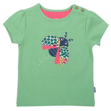 Kite Ladybird T-Shirt with Shoulder Buttons