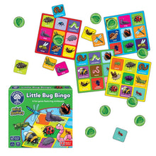 Load image into Gallery viewer, Orchard Toys - Little Bug Bingo - Mini Game Box & Contents