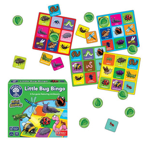 Orchard Toys - Little Bug Bingo - Mini Game Box & Contents