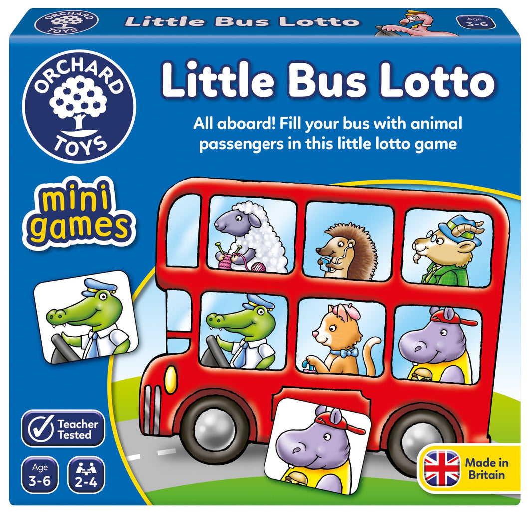 Orchard Toys - Little Bus Lotto - Mini Game