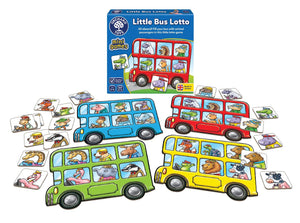 Orchard Toys - Little Bus Lotto - Box & Contents