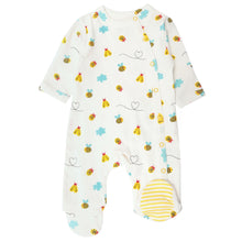 Load image into Gallery viewer, Piccalilly Little Wings Footed Sleepsuit