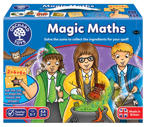Orchard Toys Magic Maths Game Box