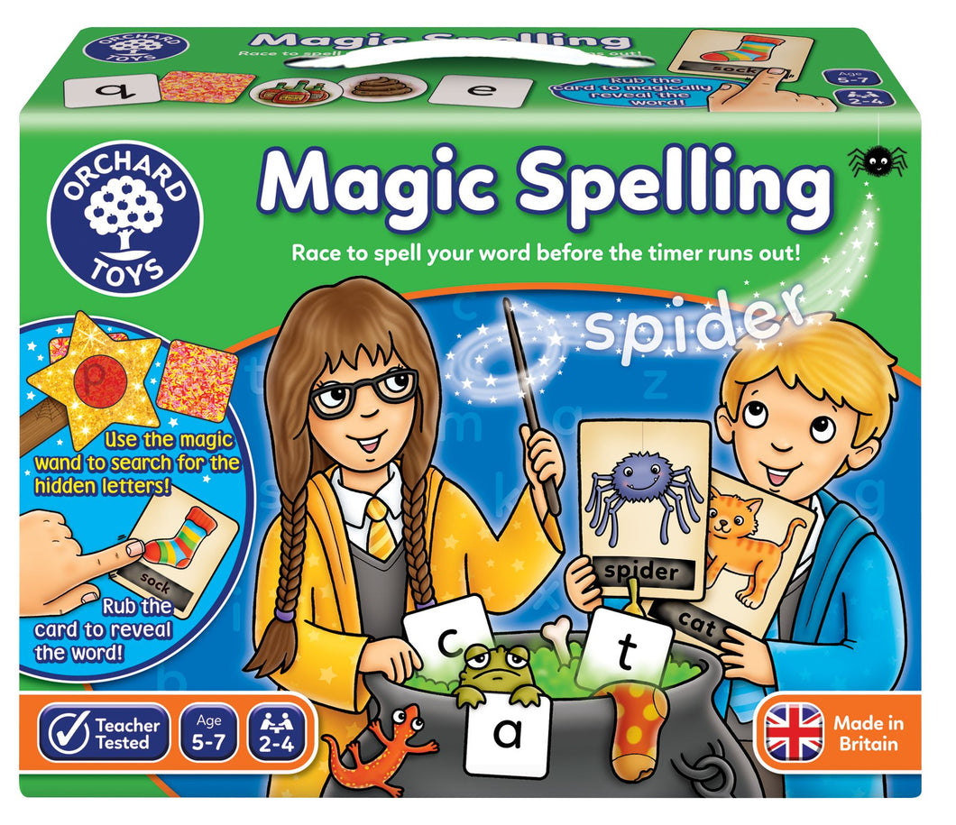 Orchard Toys Magic Spelling Game Box
