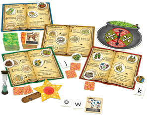 Orchard Toys Magic Spelling Game Contents
