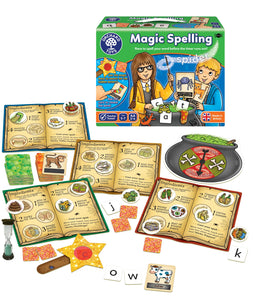 Orchard Toys Magic Spelling Game Box & Contents