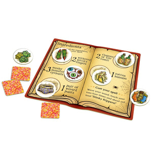 Orchard Toys Magic Spelling Game Contents Close Up