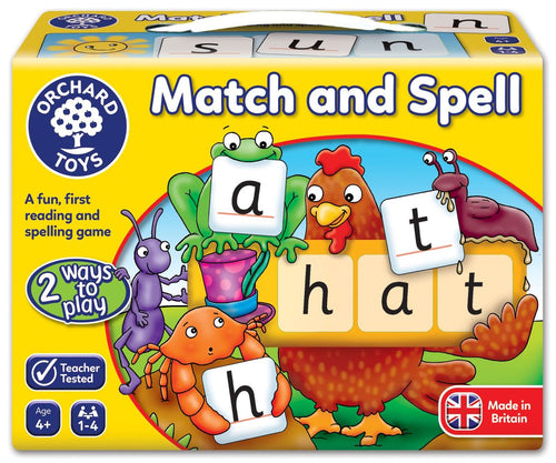 Orchard Toys Match and Spell Game Box