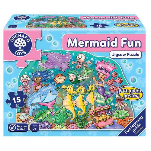 Orchard Toys Mermaid Fun Jigsaw Puzzle Box