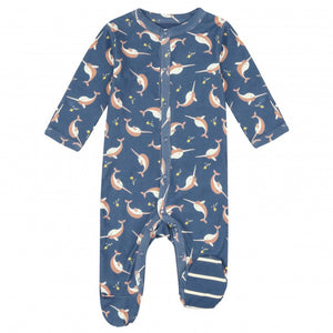 Piccalilly Narwhal Romper