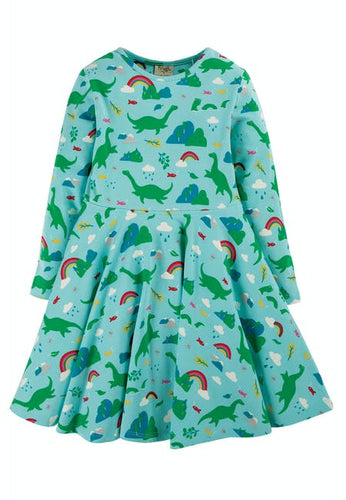 Frugi, Nessie Skater Dress - Front