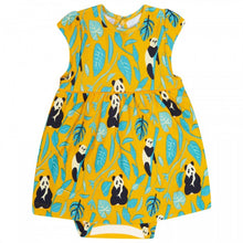 Load image into Gallery viewer, Piccalilly Baby Body Dress - Panda