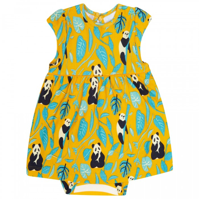 Piccalilly Baby Body Dress - Panda