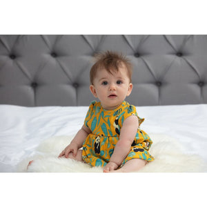 Piccalilly Baby Body Dress - Panda lifestyle