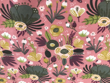 Load image into Gallery viewer, Pink Floral Fabric