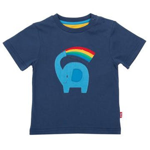 Kite Rainbow Ele T-Shirt Front