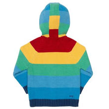 Load image into Gallery viewer, Kite Rainbow Stripe Hoody Back