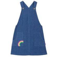 Load image into Gallery viewer, Kite Rainbow Pinafore Front
