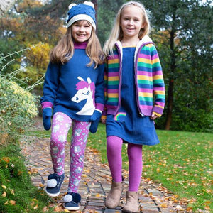 Kite Rainbow Pinafore Lifestye