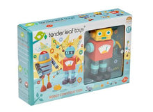 Load image into Gallery viewer, Tender Leaf Toys Robot Construction - Boxed