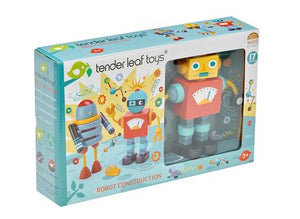 Tender Leaf Toys Robot Construction - Boxed