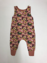 Load image into Gallery viewer, Handmade Romper Pink Floral Print