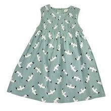 Load image into Gallery viewer, Pigeon Organics Sleeveless Smock Dress - Seagull - Turquoise
