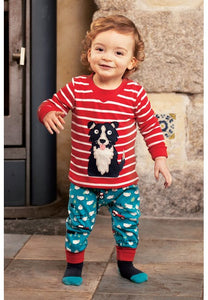 Frugi Parsnip Pants - Sheepdog, Lifestyle