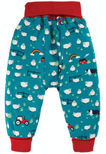 Load image into Gallery viewer, Frugi Parsnip Pants - Sheepdog, Back