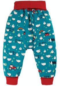 Frugi Parsnip Pants - Sheepdog, Back
