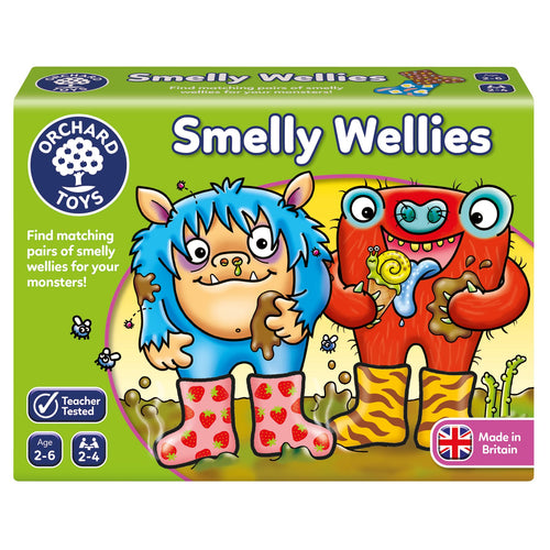 Orchard Toys Smelly Wellies Game Box