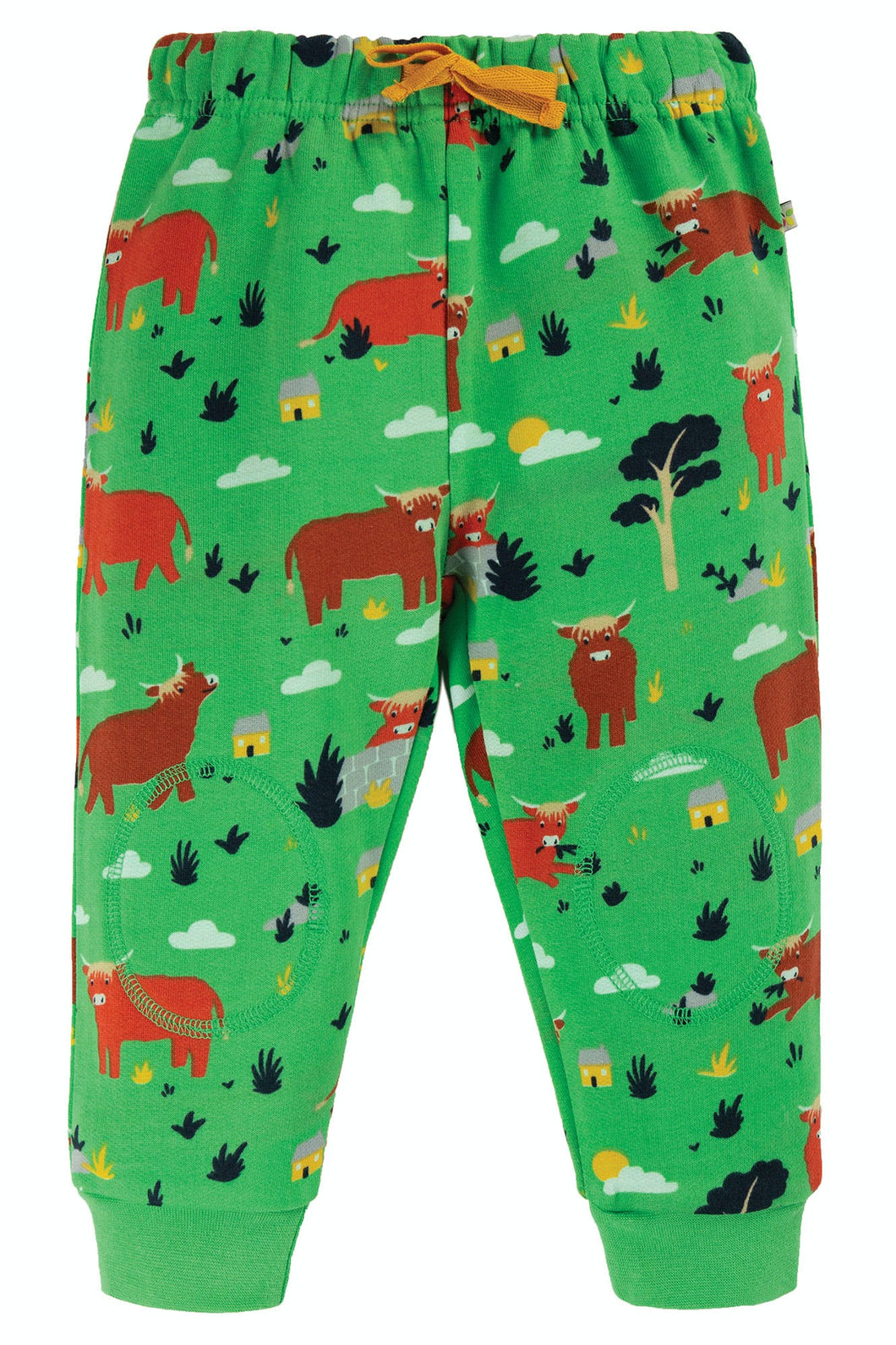 Frugi Snuggle Crawlers - Highland Cow, Front