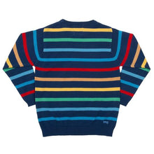 Load image into Gallery viewer, Kite Rainbow Stripe Jumper - Back