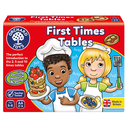 Orchard Toys First Times Tables Box