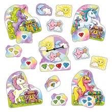 Load image into Gallery viewer, Orchard Toys Unicorn Jewels - Mini Game  Contents