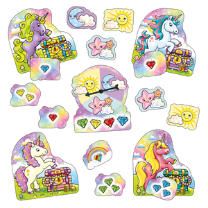 Orchard Toys Unicorn Jewels - Mini Game  Contents