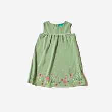 Load image into Gallery viewer, Little Green Radicals Wildflower Meadow Story Time Dress