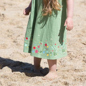 Little Green Radicals Wildflower Meadow Story Time Dress