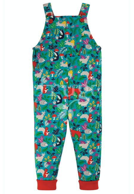 Parsnip Dungarees - Woodland Critters