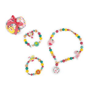Janod - Birdie Beads, Flamingo