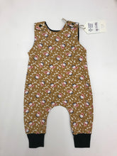 Load image into Gallery viewer, Handmade Romper - Owl Print