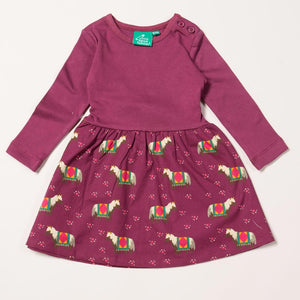 Nordic Horse Little Twirler Dress