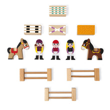 Load image into Gallery viewer, Janod Mini Stories - Riding School