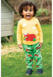 Frugi Snuggle Crawlers - Highland Cow, Lifestyle