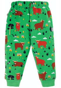 Frugi Snuggle Crawlers - Highland Cow, Back