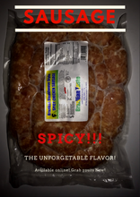 Load image into Gallery viewer, Spicy Chicken Sausage 4lbs (2_packs)