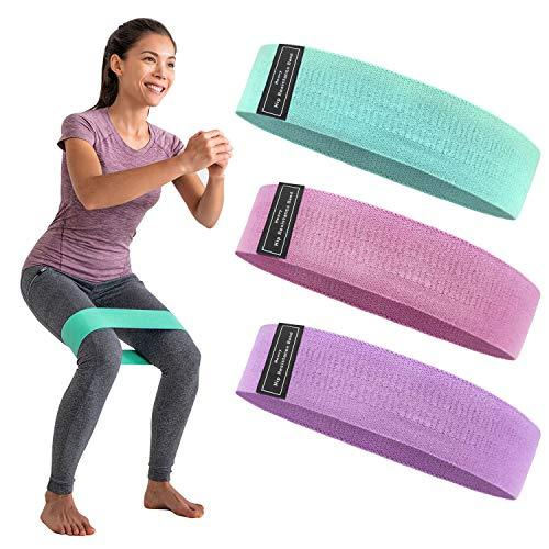 Resistance Bands Set for Legs & Butt [3 Pack - 60/90/150 lb]