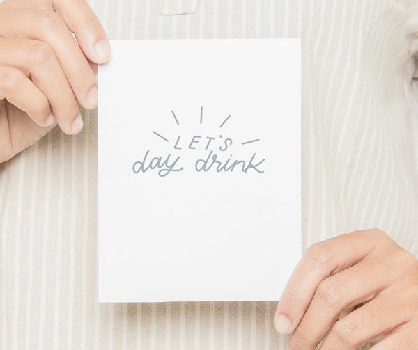 Let's Day Drink Card