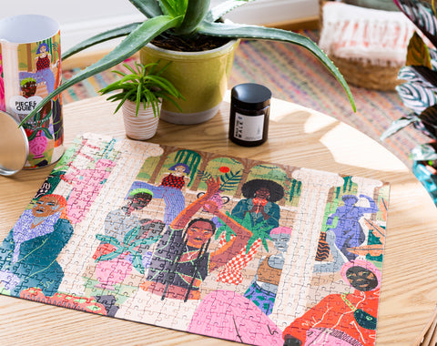 Creative jigsaw puzzle for adults