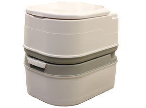 Massimo Portable Cassette Toilet 6.34 Gallon / 24L for Camping / Boating
